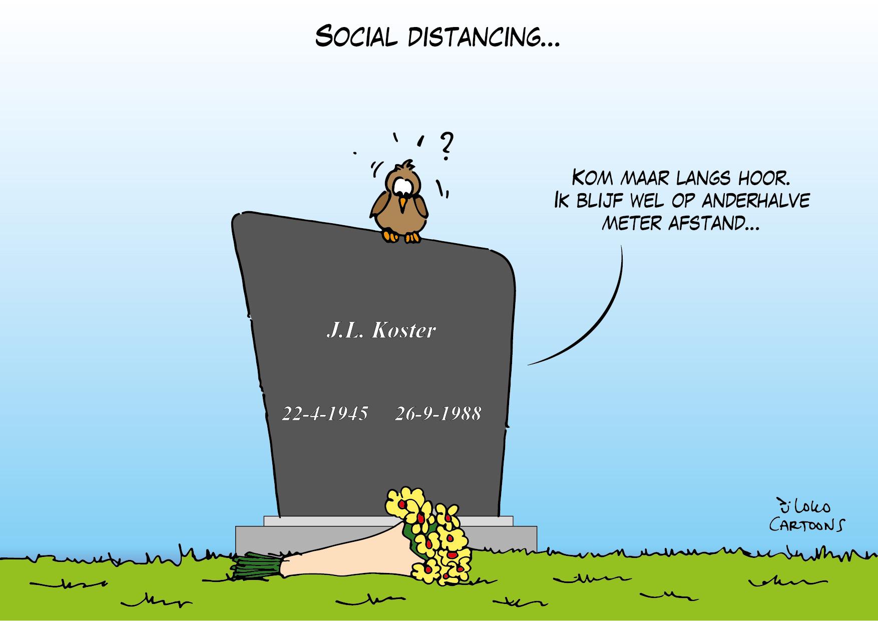 Social distancing…