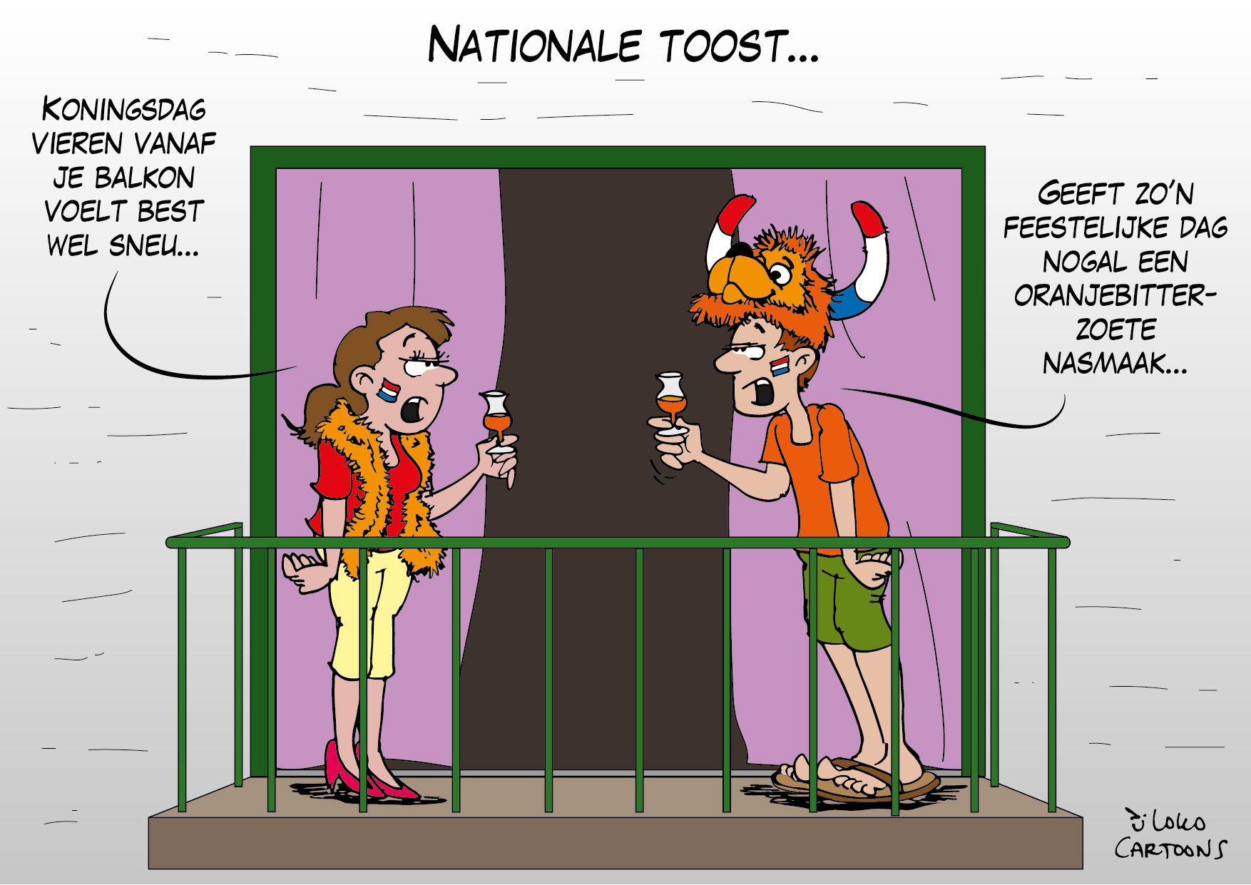 Nationale toost…