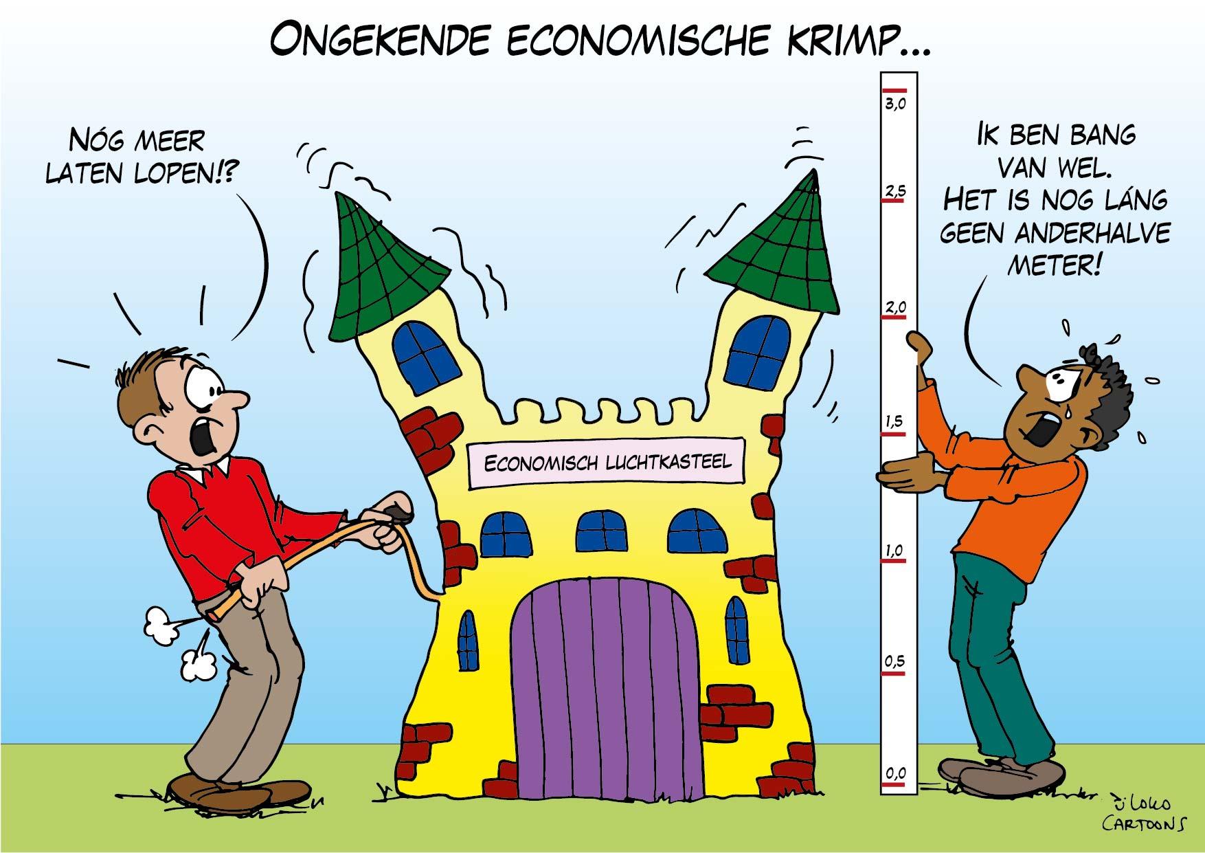 Ongekende economische krimp…