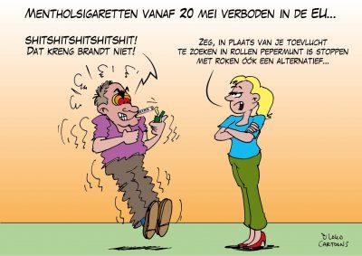 Mentholsigaretten vanaf 20 mei verboden in de EU