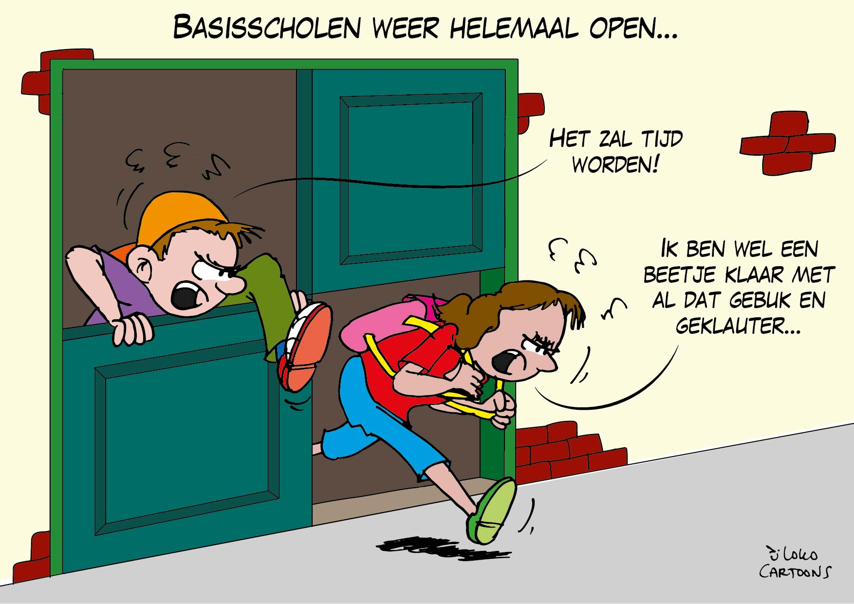 Basisscholen weer helemaal open…