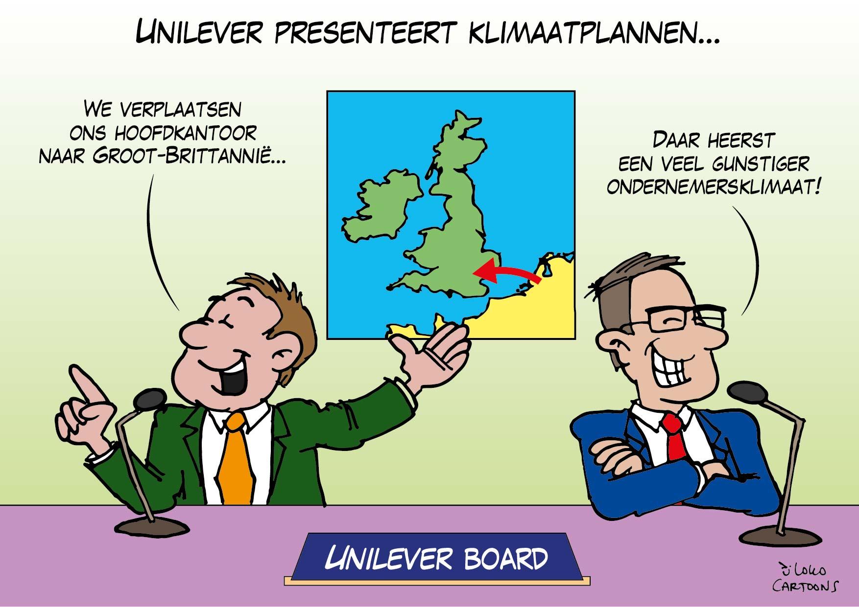 Unilever presenteert klimaatplannen…