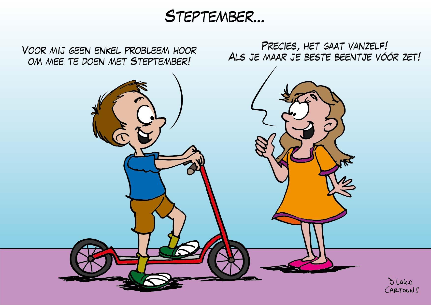Steptember…