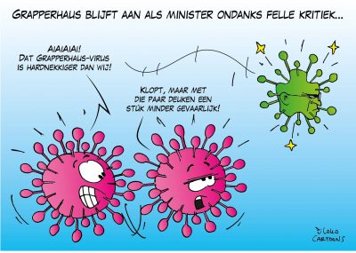 Grapperhaus blijft aan als minister ondanks felle kritiek Corona, coronavirus, coronacrisis, COVID-19