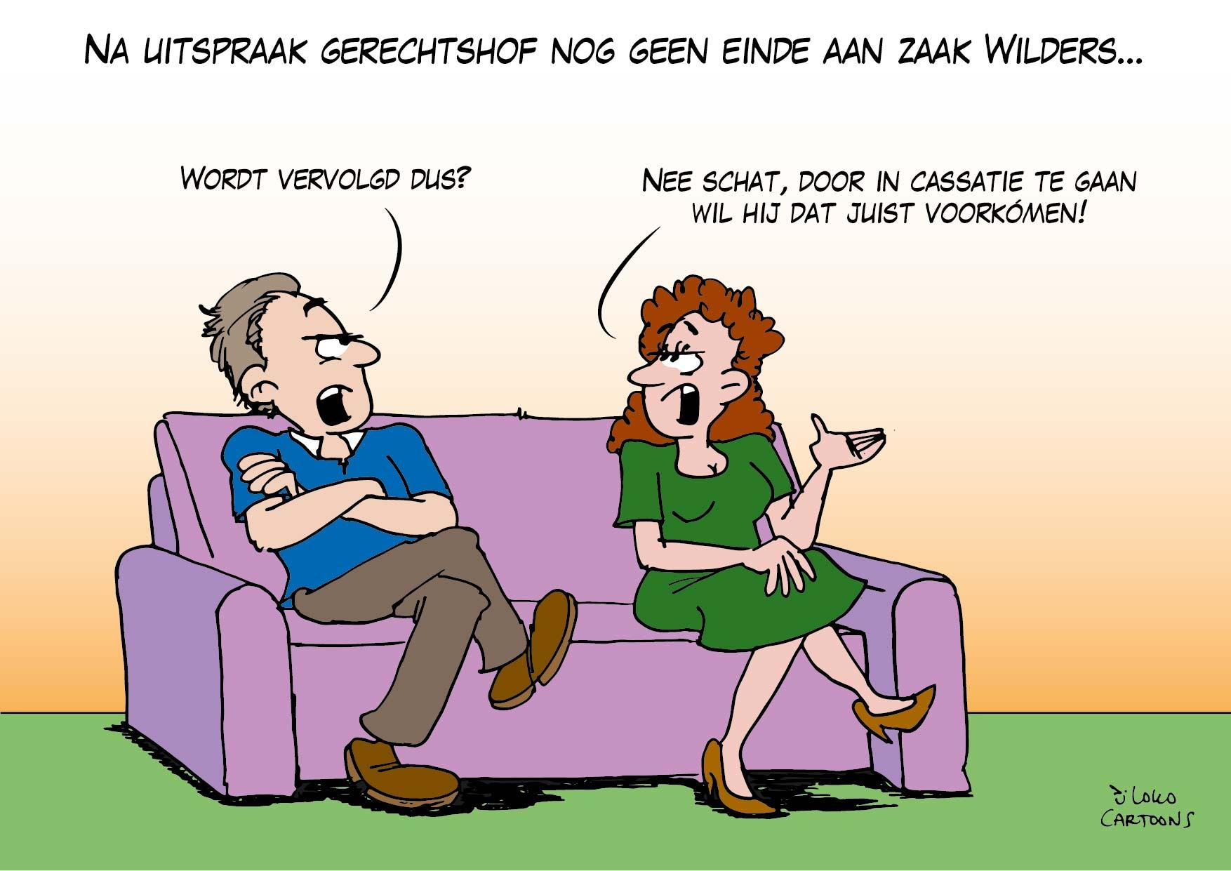 Na uitspraak gerechtshof nog geen einde aan zaak Wilders…