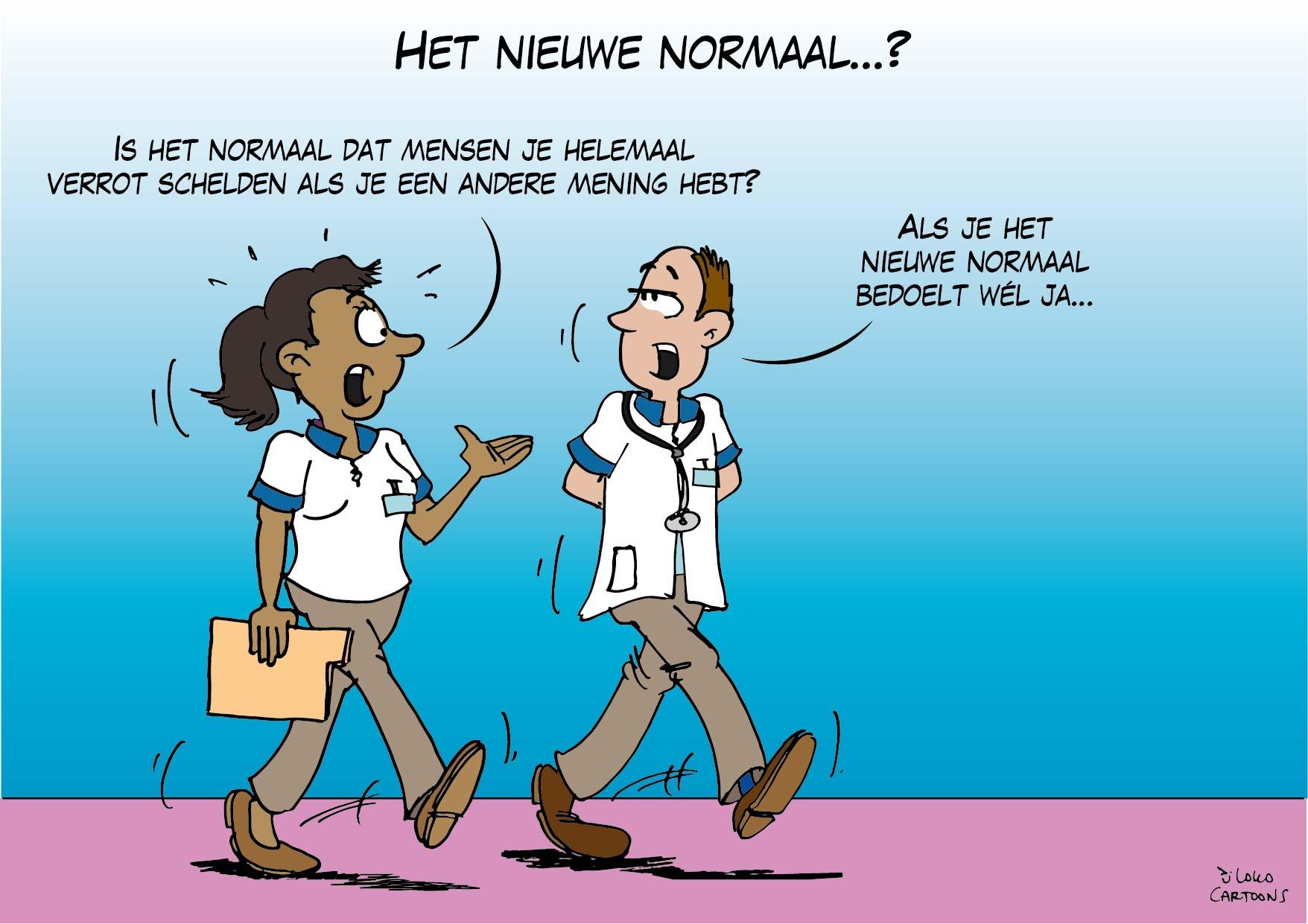 Het Nieuwe Normaal…