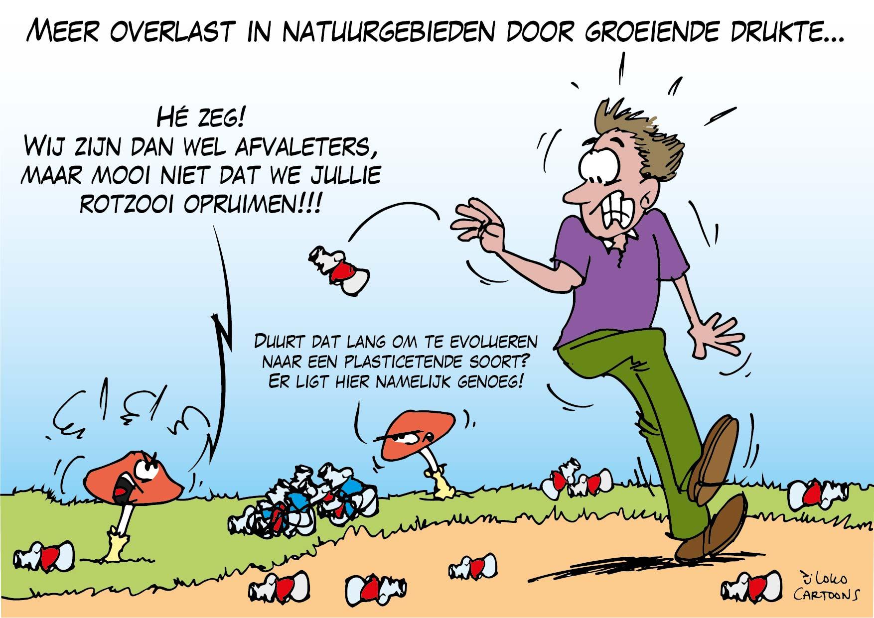 Meer overlast in natuurgebieden door groeiende drukte…