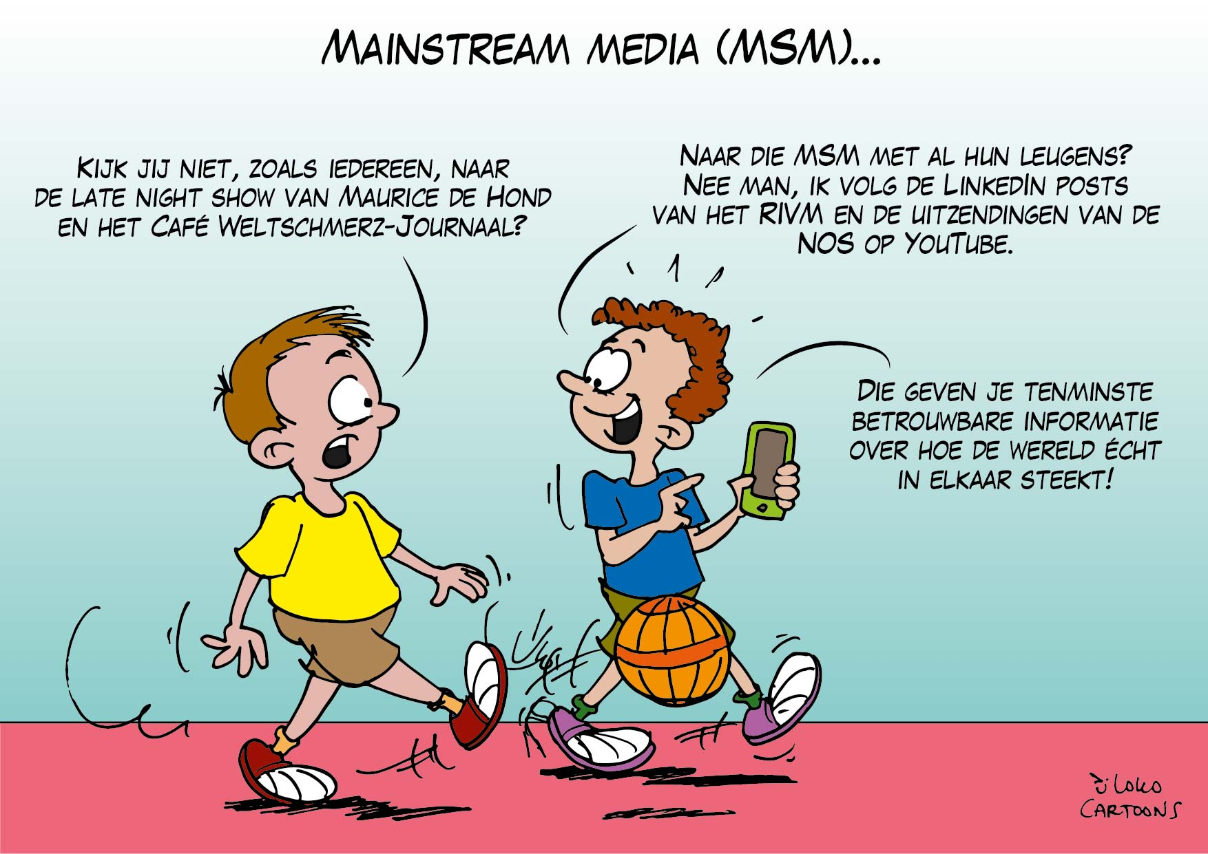 Mainstream media (MSM)…