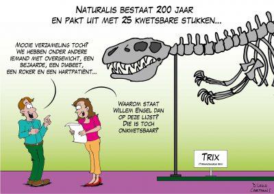 Naturalis bestaat 200 jaar en pakt uit met 25 kwetsbare stukken Corona, coronavirus, coronacrisis, COVID-19