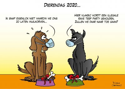 Dierendag 2020 Corona, coronavirus, coronacrisis, COVID-19