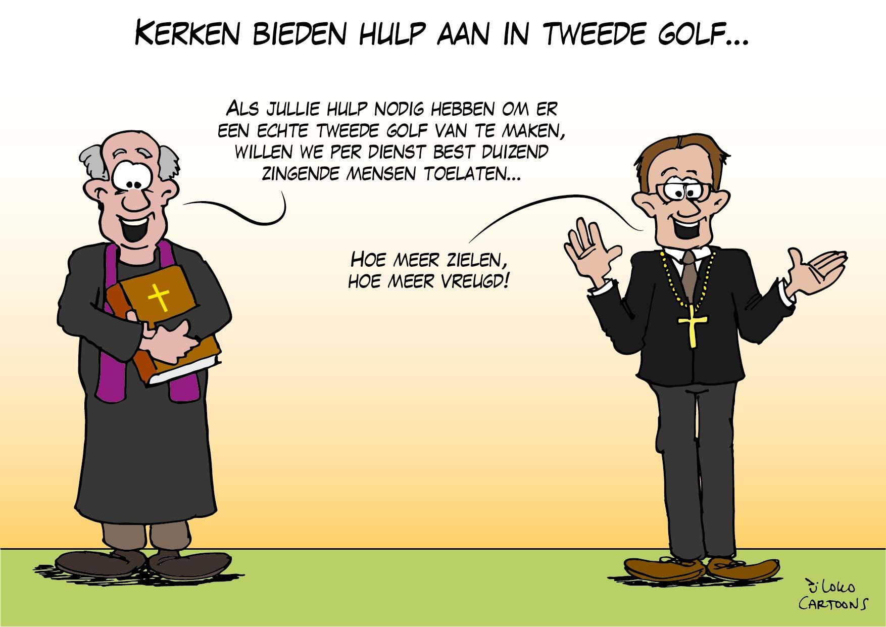 Kerken bieden hulp aan in Tweede Golf…