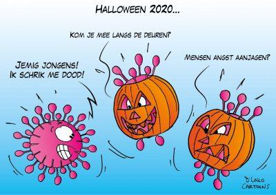 Halloween 2020 Corona, coronavirus, coronacrisis, COVID-19