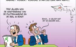 Kabinet weigert verdere staatssteun aan KLM