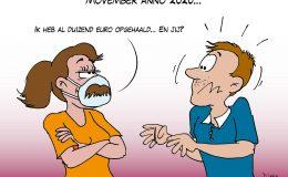 Movember anno 2020 Corona, coronavirus, coronacrisis, COVID-19