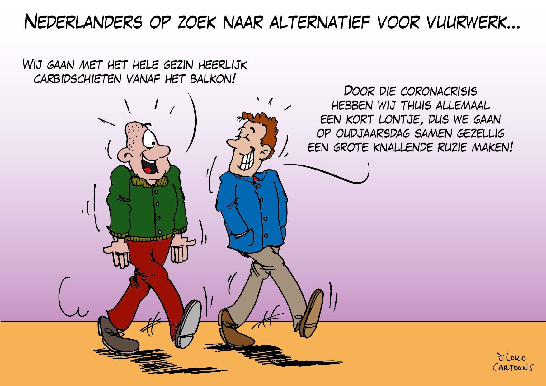Nederlanders op zoek naar alternatief voor vuurwerk…
