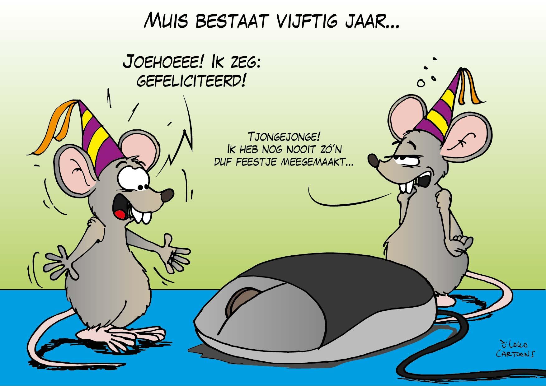 Muis bestaat vijftig jaar…