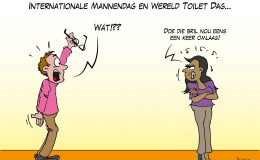 Internationale Mannendag en Wereld Toilet Dag