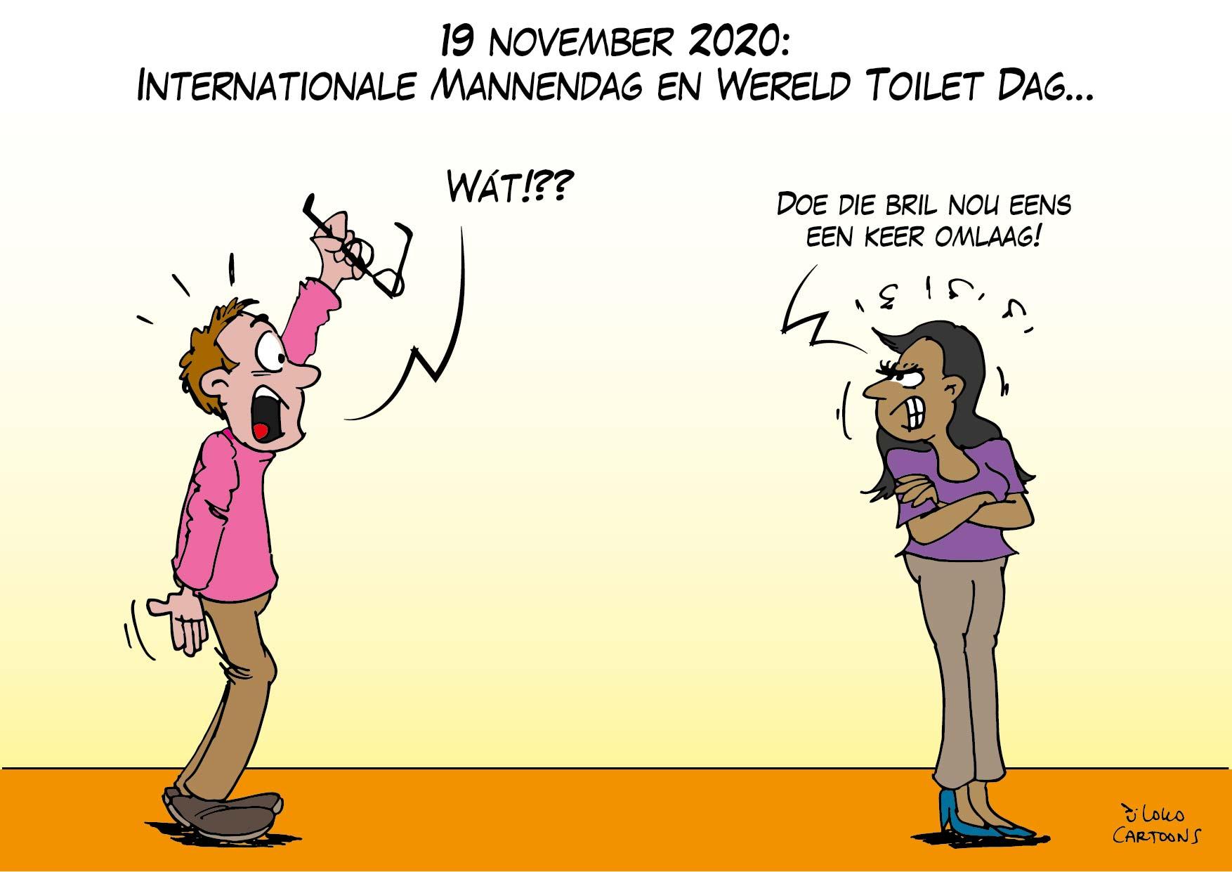 Internationale Mannendag en Wereld Toilet Dag…