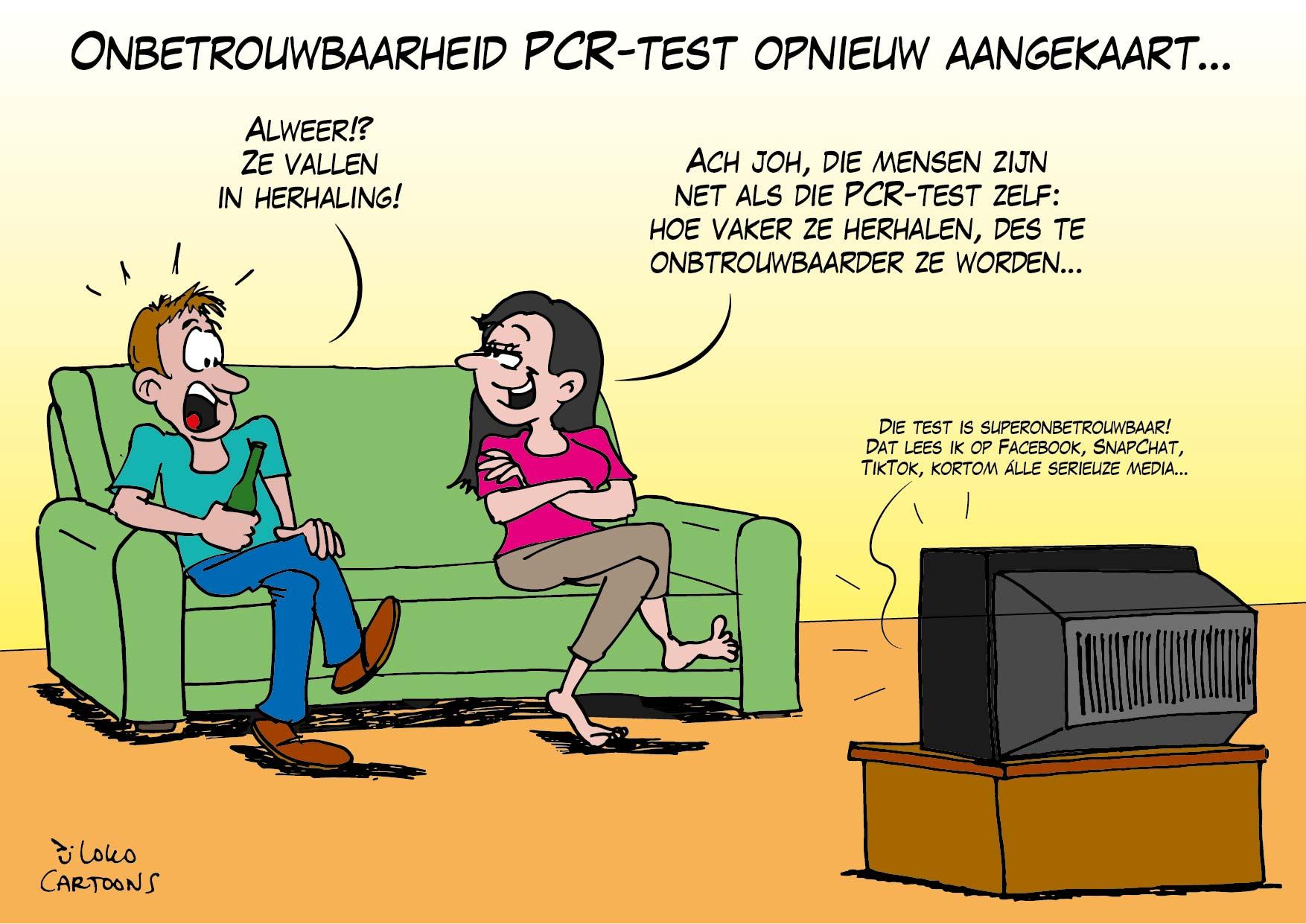 Onbetrouwbaarheid PCR-test opnieuw aangekaart…