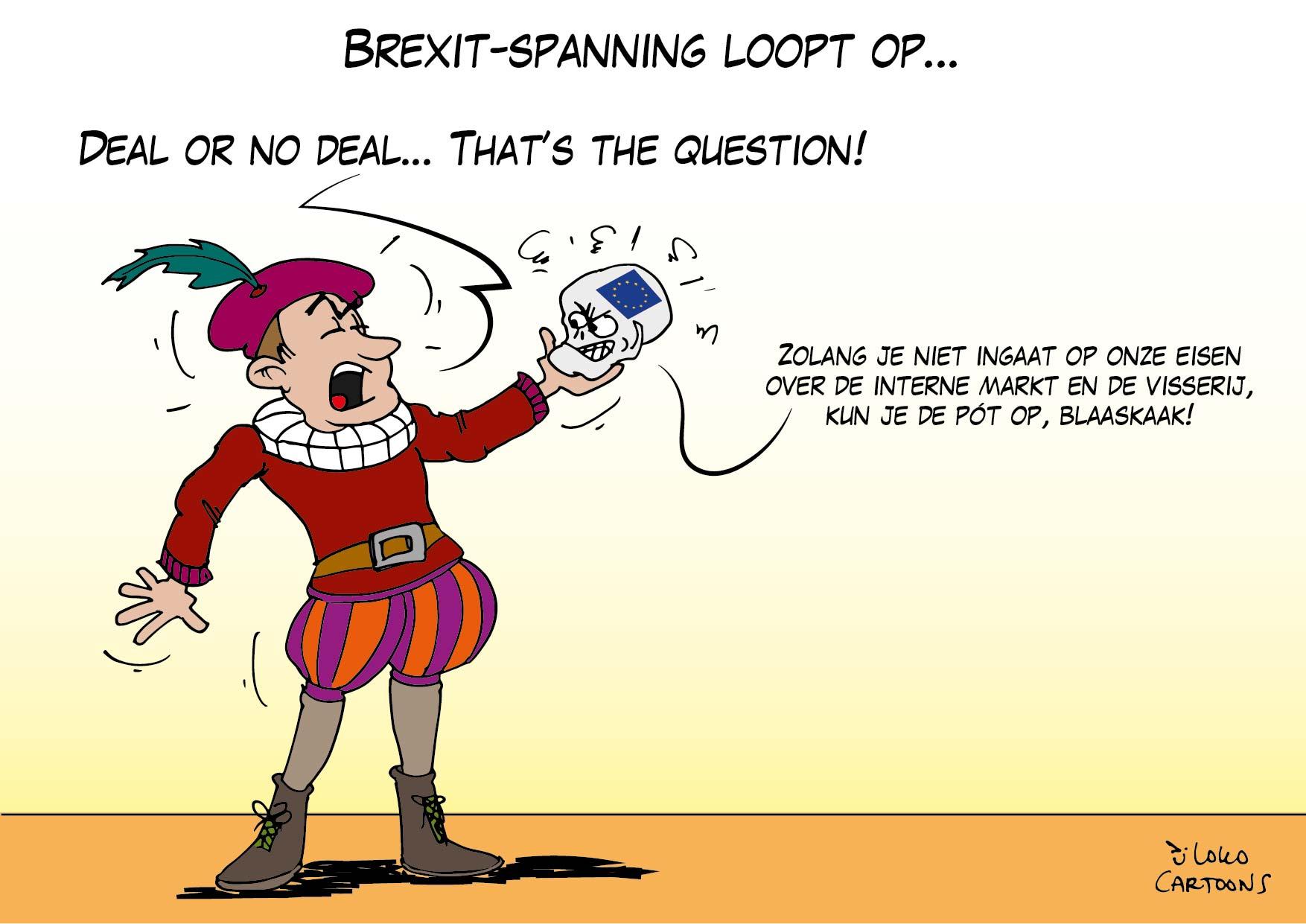 Brexit-spanning loopt op …