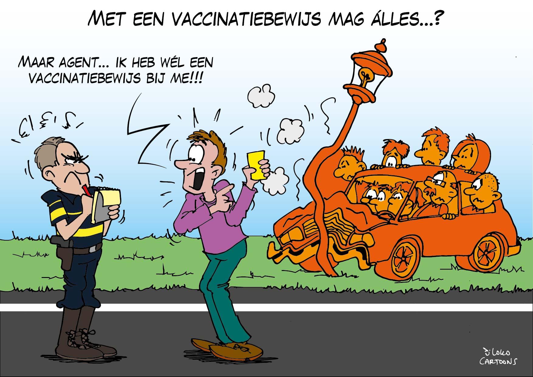 Met een vacinatiebewijs mag alles…