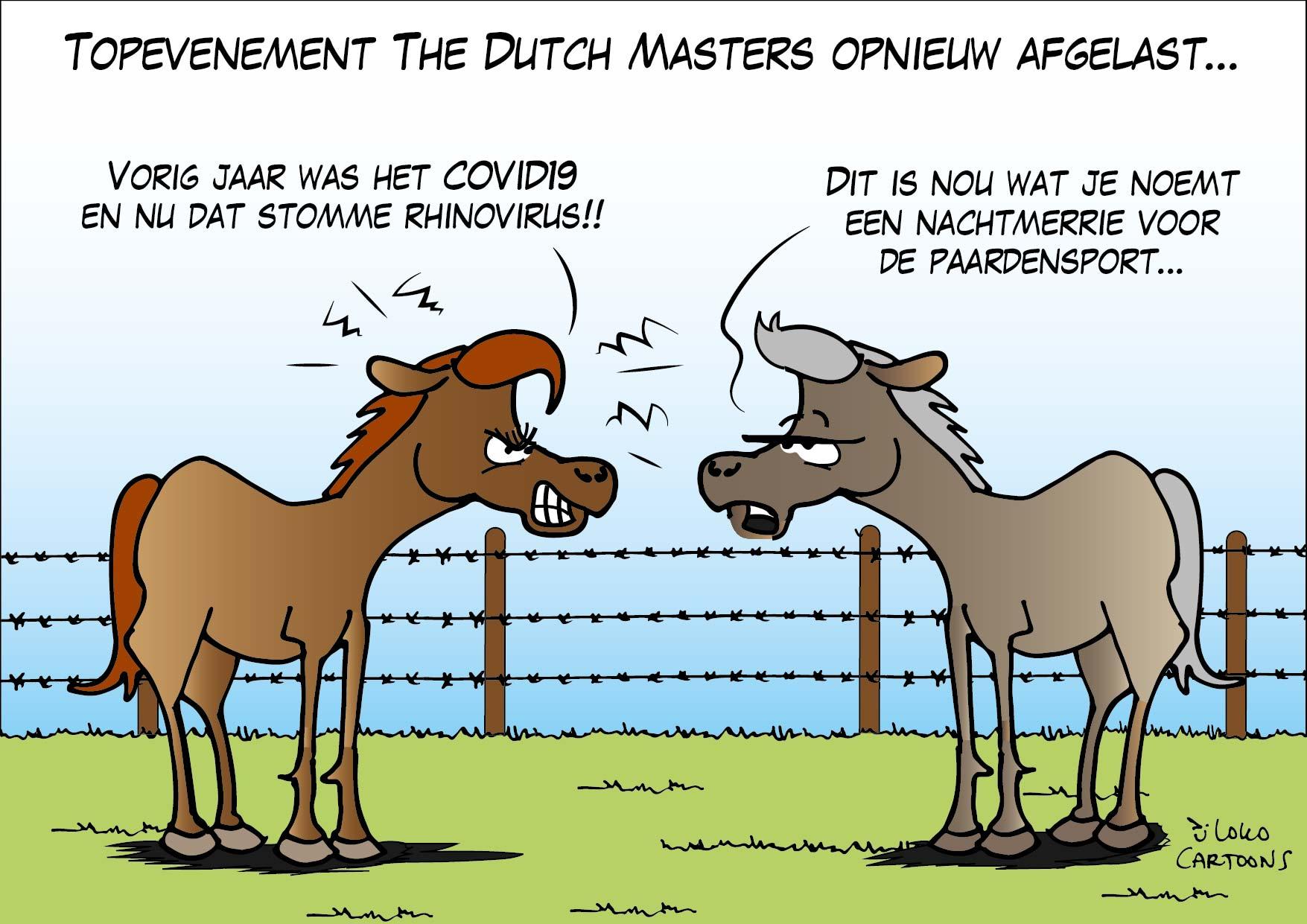 Topevenement The Dutch Masters opnieuw afgelast