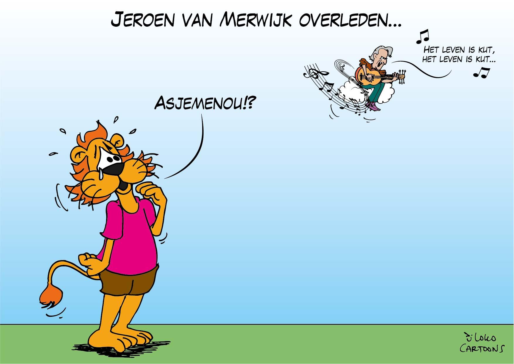Jeroen van Merwijk overleden