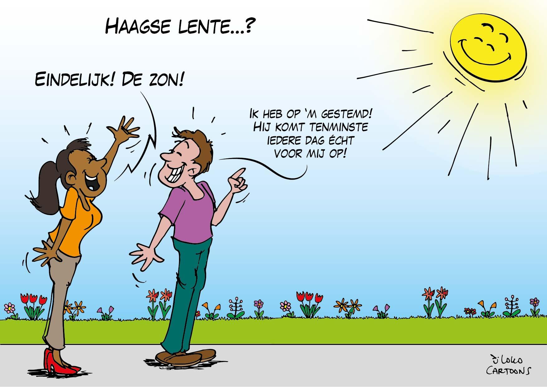Haagse lente…