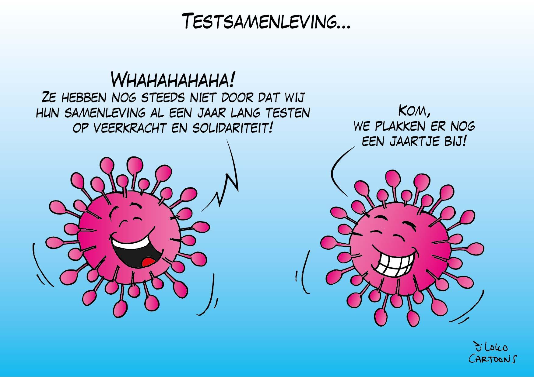 Testsamenleving…