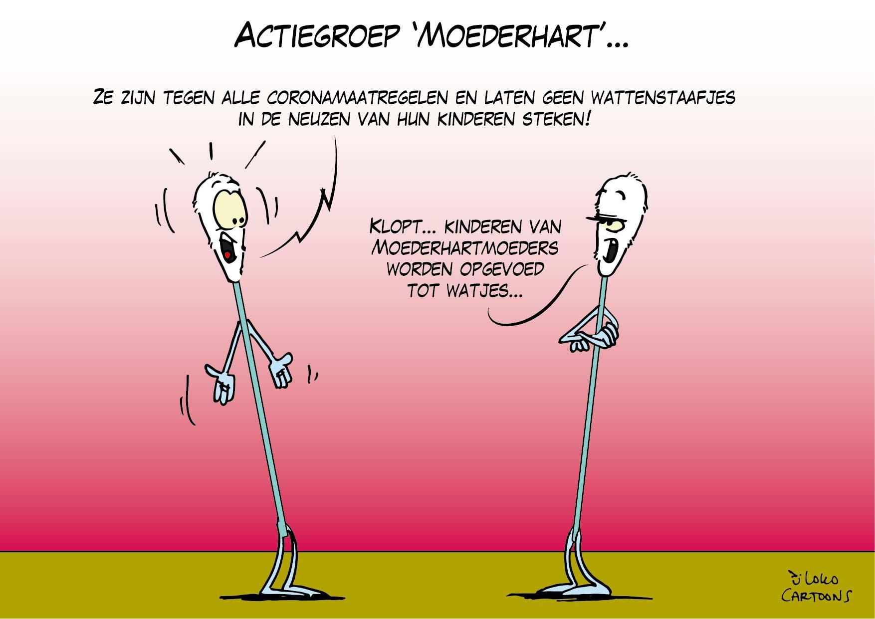 Actiegroep 'Moederhart'…