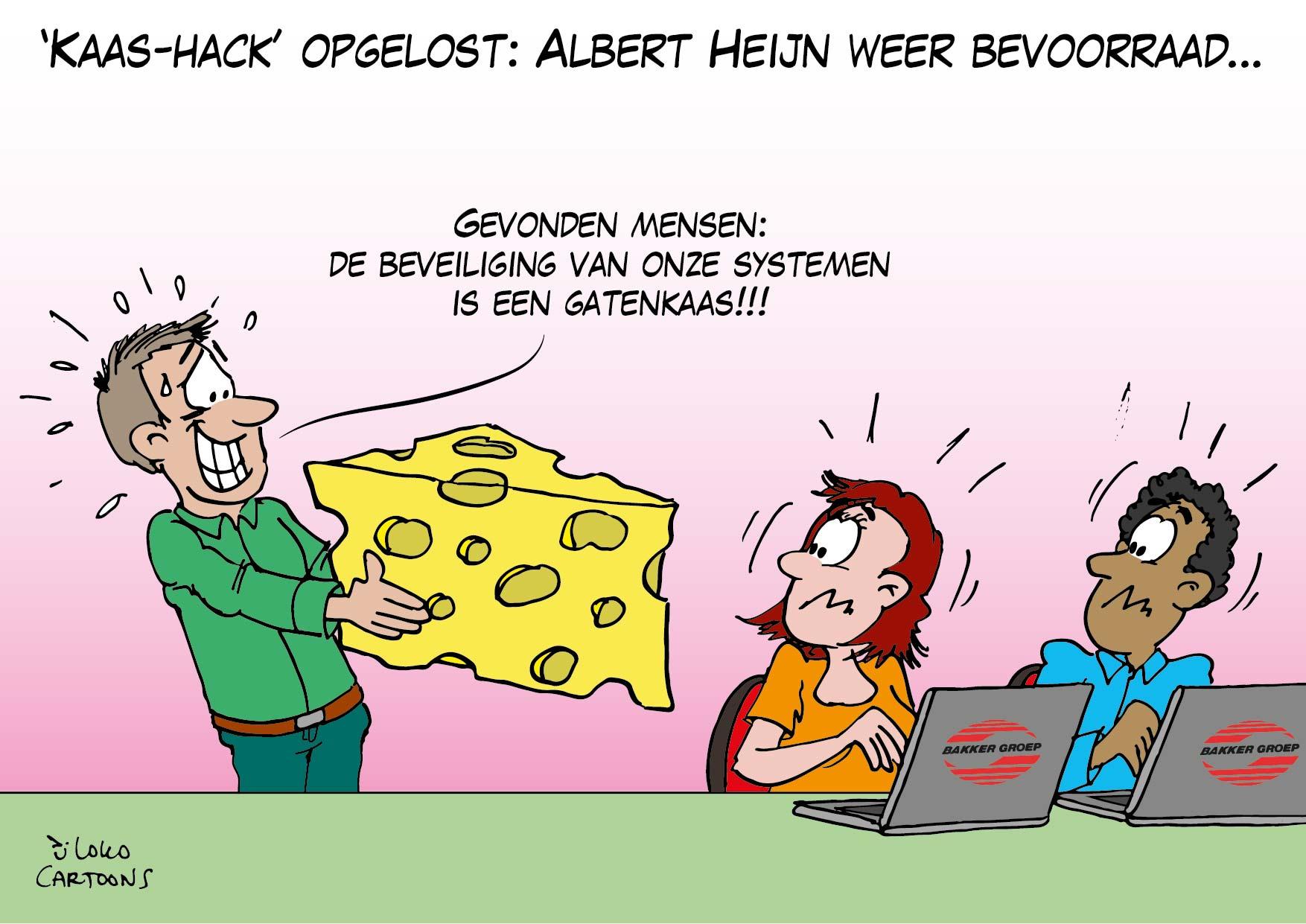 'Kaas-hack' opgelost: Albert Heijn weer bevoorraad…