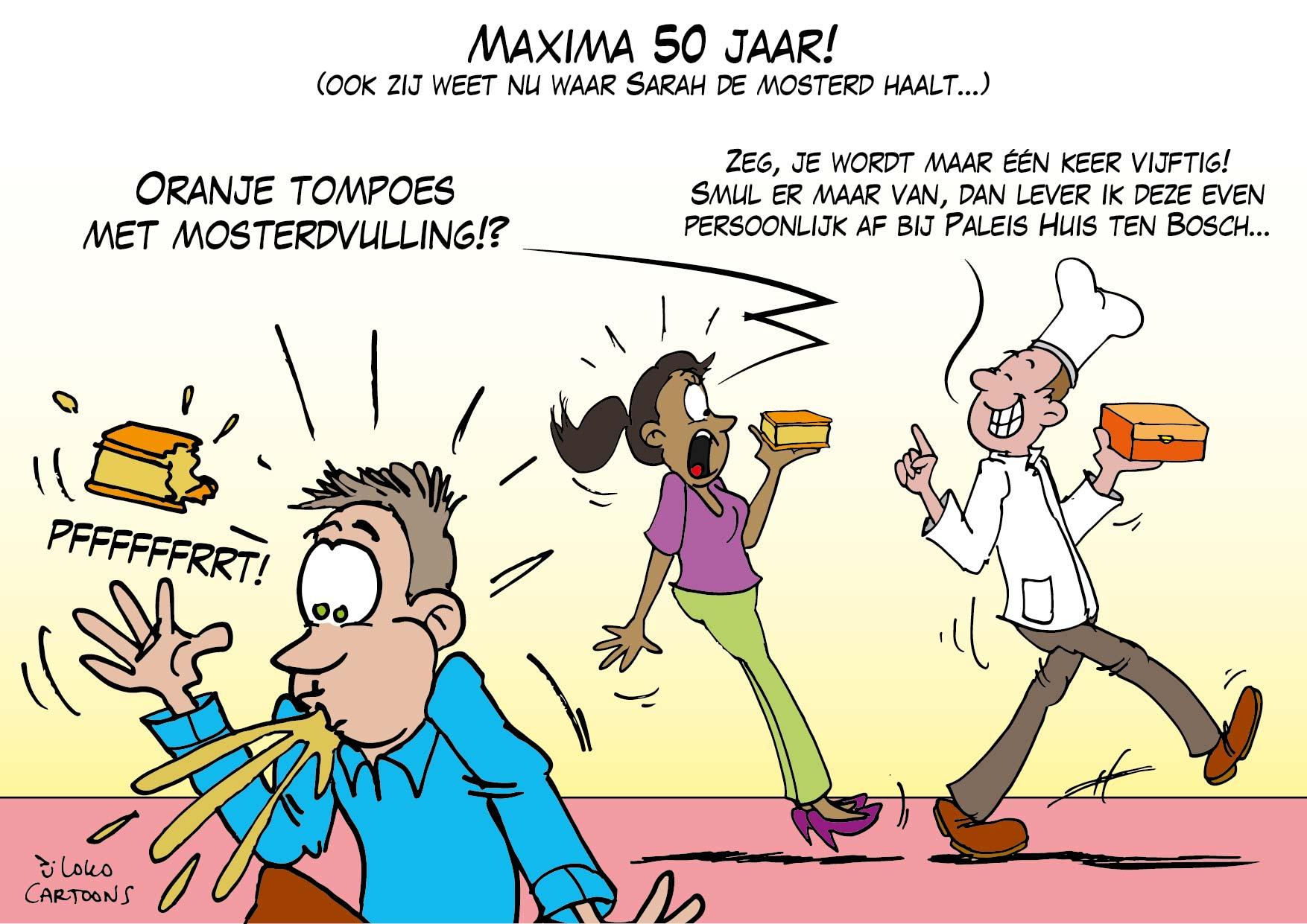 Maxima 50 jaar…