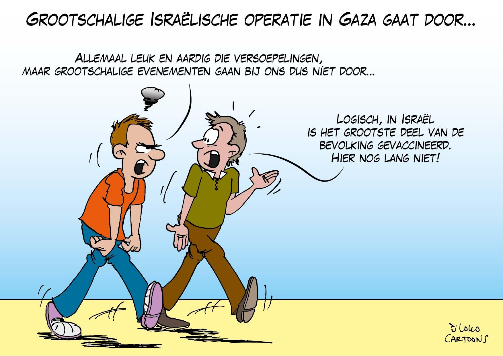 Grootschalige Israëlische operatie in Gaza gaat door…
