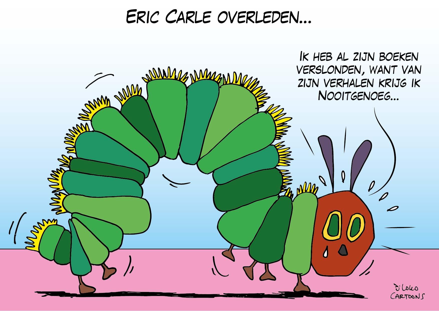 Eric Carle overleden…