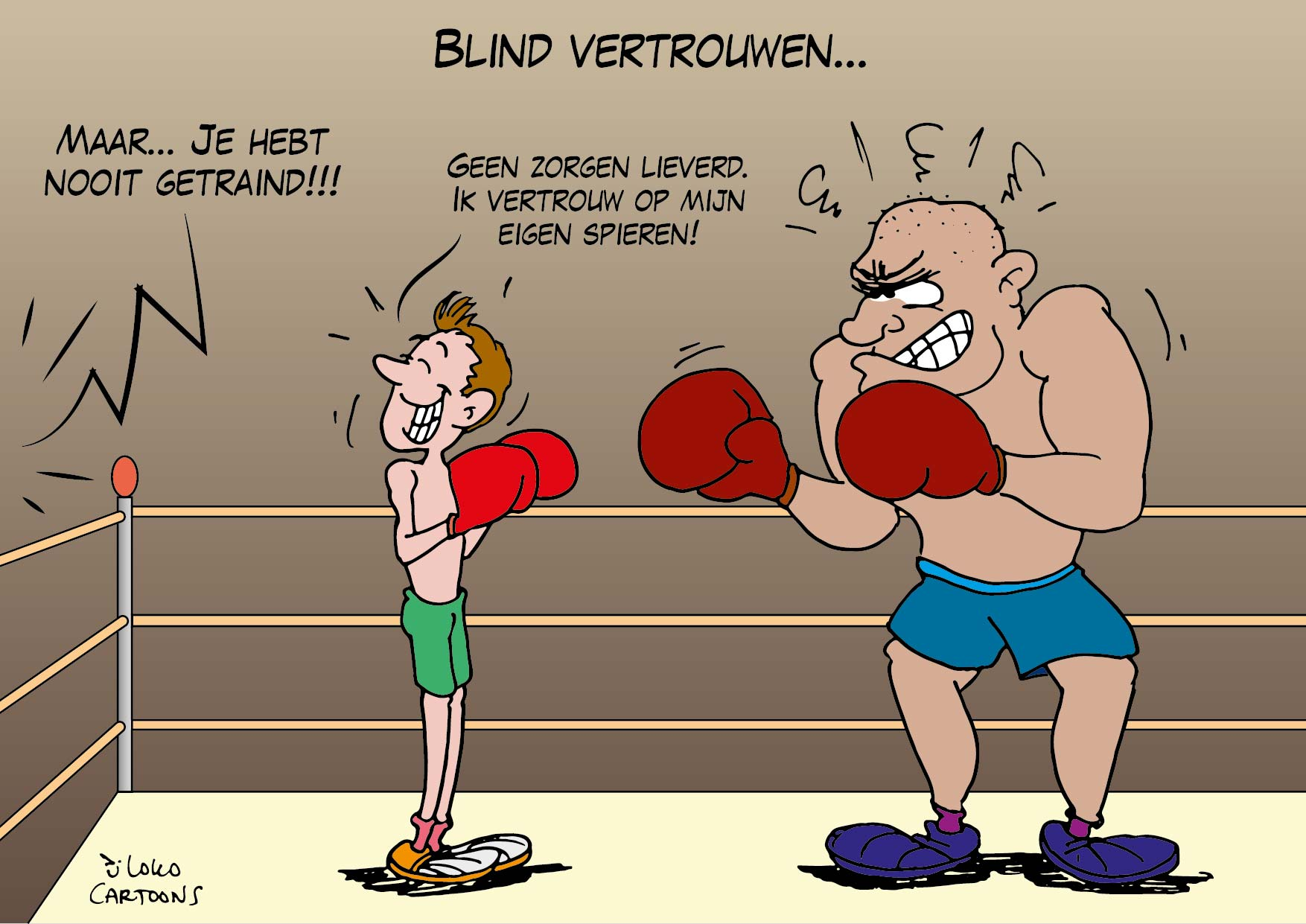 Blind vertrouwen…
