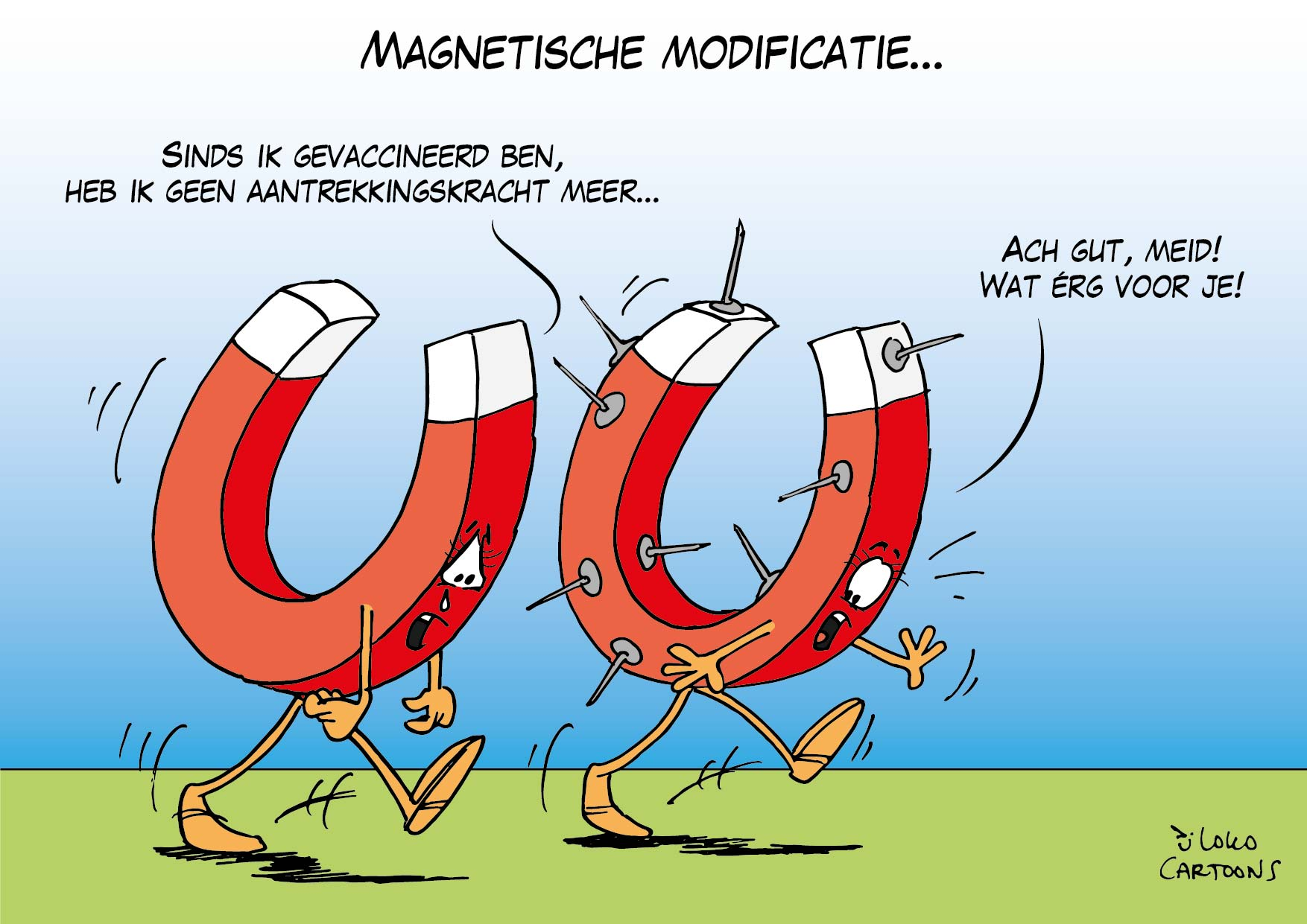 Magnetische modificatie…