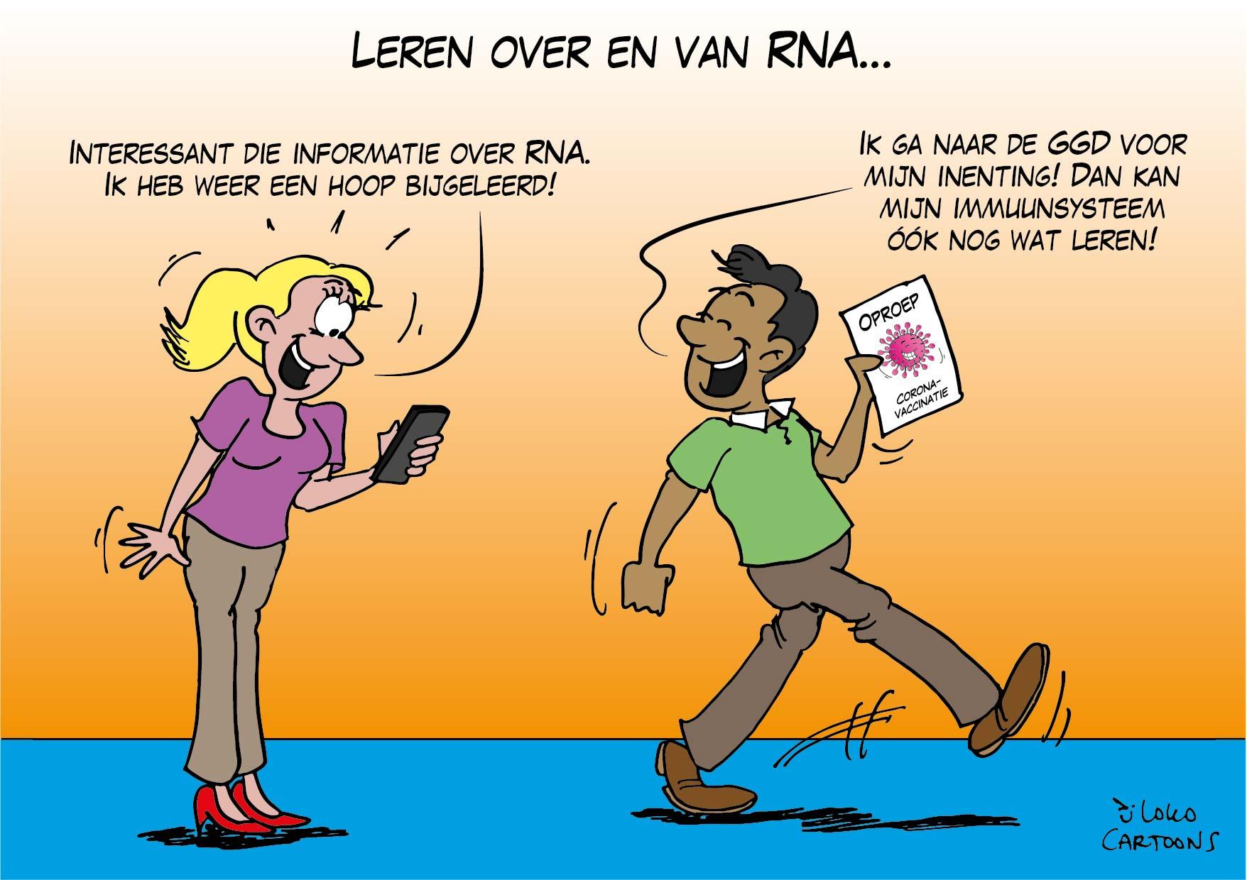 Leren over en van RNA…