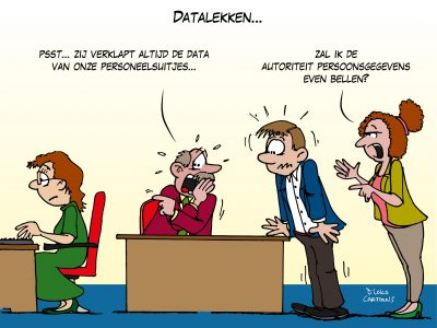 privacy avg gdpr persoonsgegevens data NVWA Loko Cartoons