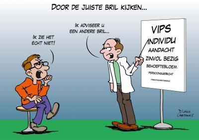 cartoonverslag live cartooning zorg zorginstelling Loko Cartoons omgeving Nijmegen Arnhem