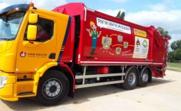 afval recylcling duurzaamheid sticker Loko Cartoons