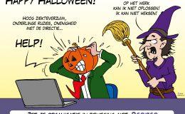 HRM P&O organisatie management Loko Cartoons