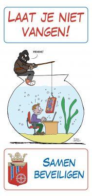 privacy AVG phishing gemeente relatiegeschenk snoepwikkel Loko Cartoons omgeving Nijmegen Arnhem