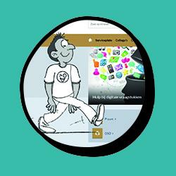 Uitleg nieuwe werkomgeving ICT IT animatie