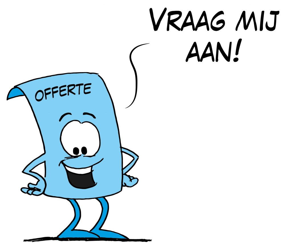 offerte prijsopgaaf Loko Cartoons